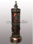 Incense Burner Stand with Buddha