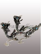 Filigree dragon