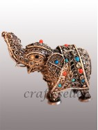 filigree elephant small