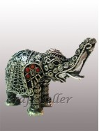 Filigree elephant medium