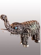 filigree elephant big