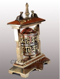 2 pillar table prayer wheel