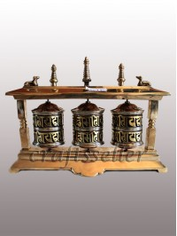 2 pillar 3in1 table prayer wheel