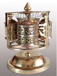 Mandala 3in1 table prayer wheel