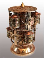 Mandala 6in1 table prayer wheel