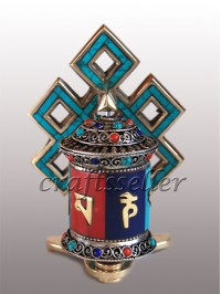 Table prayer wheel with s ..
