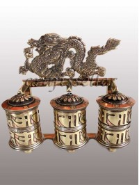 Dragon Table Prayer Wheel
