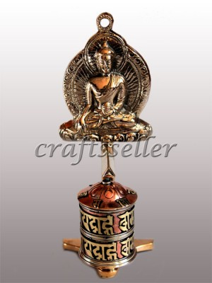 Top Buddha Prayer wheel